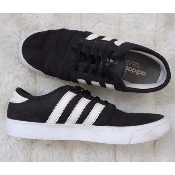Low Top Adidas Classic Sneakers Black 3 Stripe VqpLUMSzG